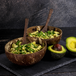 Pack of 2 Natural Coconut Bowls | M&W - Image 2