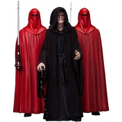 Emperor Palpatine & Royal Guards (Star Wars) ArtFX Triple Statue Pack