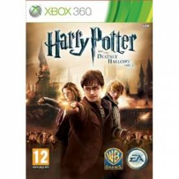 Harry Potter and The Deathly Hallows Part 2 Game Xbox 360
