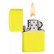 Zippo Regular Neon Yellow Windproof Lighter - Image 2
