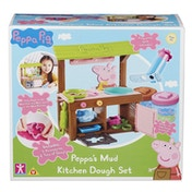 Peppa Pig's Mud Kitchen Dough Set