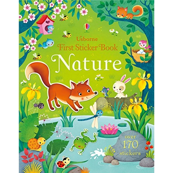 First Sticker Book Nature by Felicity Brooks (Paperback, 2016)