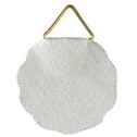 Hama Picture Hangers, triangular eyes with adhesive surface, 10 pieces