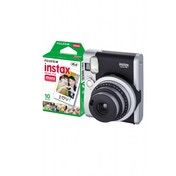 Fuji Instax Mini 90 Instant Camera Black inc 10 Shots