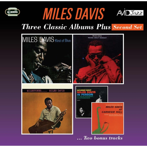 Miles Davis - Three Classic Albums Plus CD
