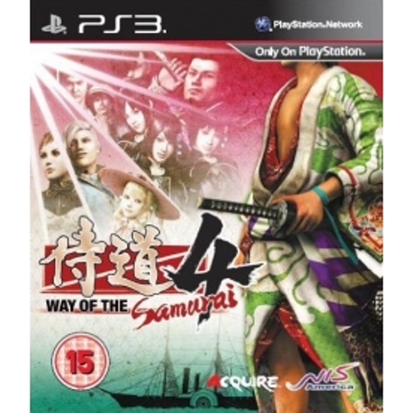 Way Of The Samurai 4 Game PS3