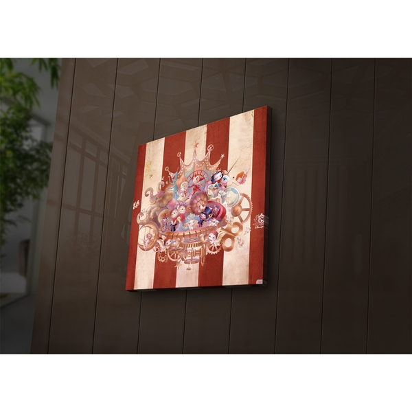 2828?ACT-36 Multicolor Decorative Led Lighted Canvas Painting