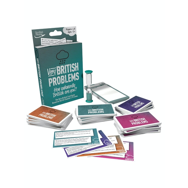 Very British Problems Travel Card Game