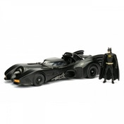 Batmobile (Batman 1989) Jada Diecast Model With Batman 1:24