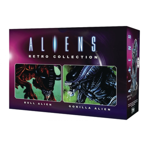 Retro Bull & Gorilla Set (Aliens) Figure Set