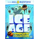 Ice Age 1-5 plus a Mammoth Christmas Box Set DVD