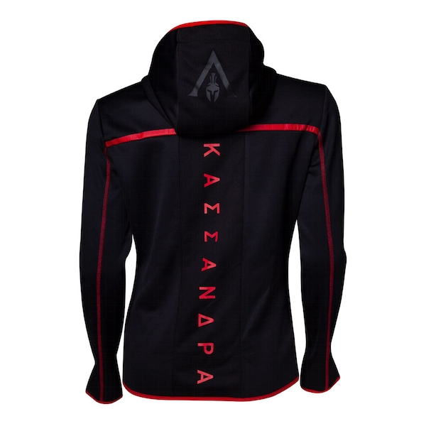 Assassin'S Creed - Technical Dark Women's X-Large Hoodie - Black/Red