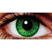 Forest Green 3 Month Natural Coloured Contact Lenses (MesmerEyez Blendz)