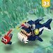 LEGO Creator 3 in 1 - Deep Sea Creatures (31088) [Damaged Packaging] - Image 5