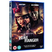 The Lone Ranger 2013 DVD