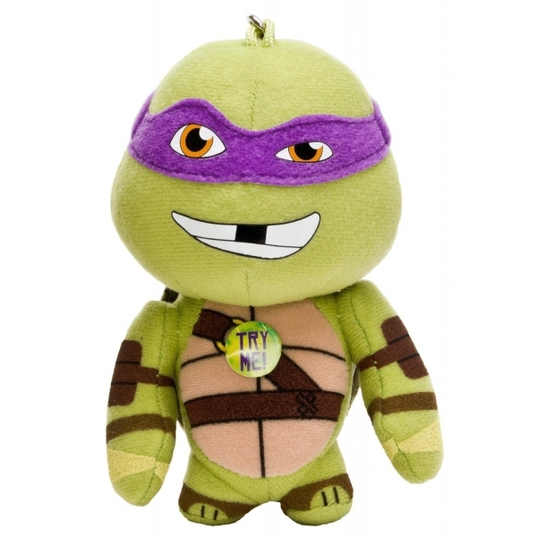 Teenage Mutant Ninja Turtles 4 Inch Talking Bag Buddies