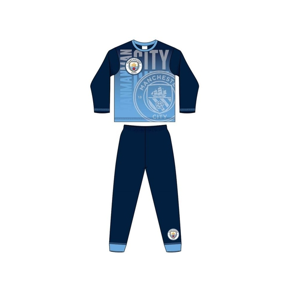 9-10 Years Man City Sublimation Print Pyjamas 33895