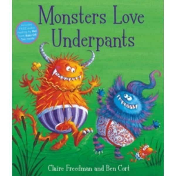 Monsters Love Underpants by Claire Freedman (Paperback, 2015)