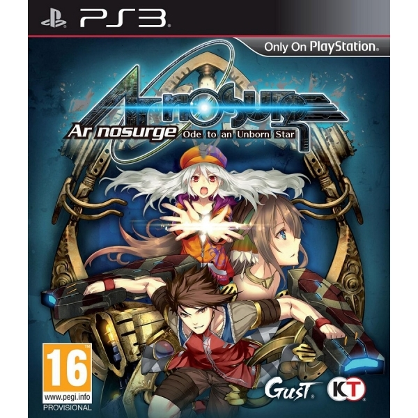 AR Nosurge Ode To An Unborn Star PS3 Game (with Misogi DLC)