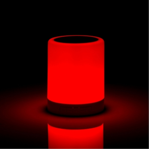 Wireless Speaker With Colour Changing Touch Lamp UK Plug - Image 2