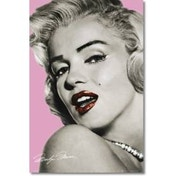 Marilyn Monroe Pink Maxi Poster