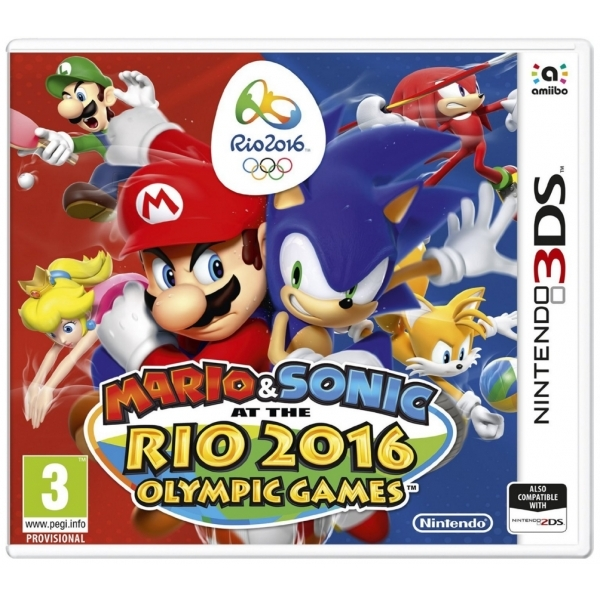 Mario & Sonic at the Rio 2016 Olympic Games 3DS Game - Image 1