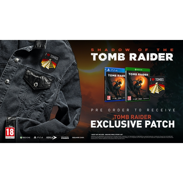 Shadow Of The Tomb Raider Croft Edition PS4 Game + I Love Tombs Patch - Image 8