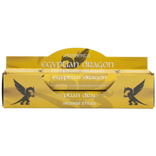 6 Packs of Elements Egyptian Dragon Incense Sticks