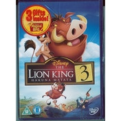 The Lion King 3: Hakuna Matata DVD