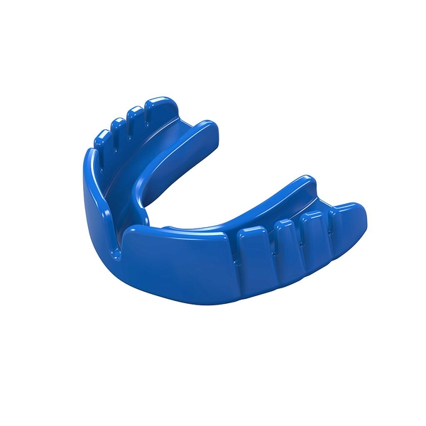 Safegard Snap Fit Mouthguard Electric Blue - Junior