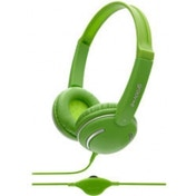 Groov-e GV897GN Streetz Stereo Headphones with Volume Control - Green