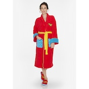 Wonder Woman DC Comics Retro Red Hoodless Robe