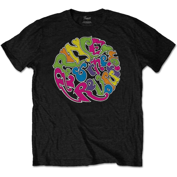 Prince - In a Day Unisex Large T-Shirt - Black