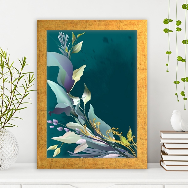 AC14867169682 Multicolor Decorative Framed MDF Painting