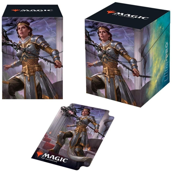 Ultra Pro Magic The Gathering Theros Beyond Death Elspeth, Sun's Nemesis PRO 100+ Deckbox