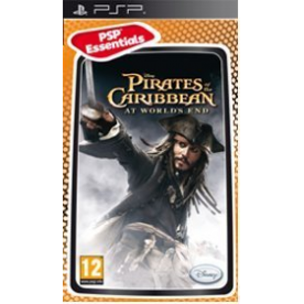 Pirates Of The Caribbean 3 At Worlds End Game PSP