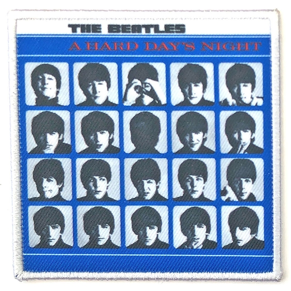 The Beatles - A Hard Days Night Album Cover Standard Patch