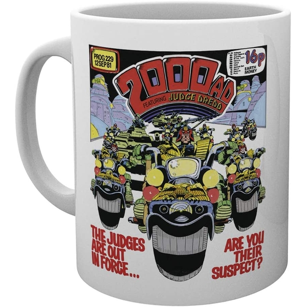 2000AD Out in Force Ceramic Mug