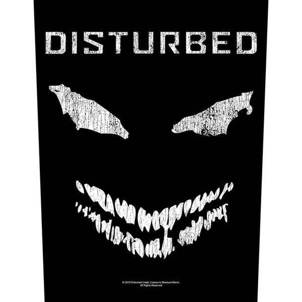 Disturbed - Face Back Patch