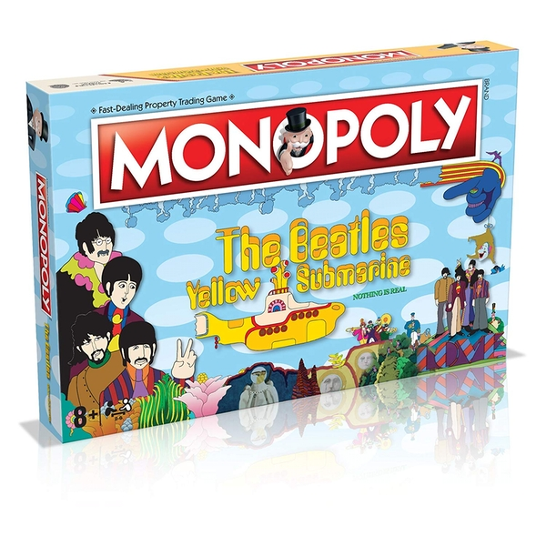 The Beatles Yellow Submarine Monopoly Board Game - Image 1