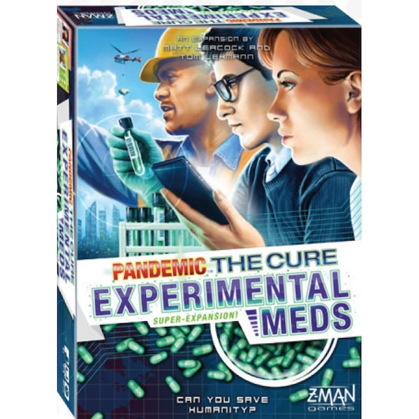 Pandemic: The Cure - Experimental Meds Expansion Board Game