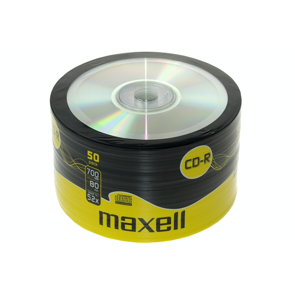 Maxell CDR 50 Pack Shrink Wrap