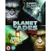 Dawn of the Planet of the Apes / Rise of the Planet of the Apes Double Pack Blu-ray