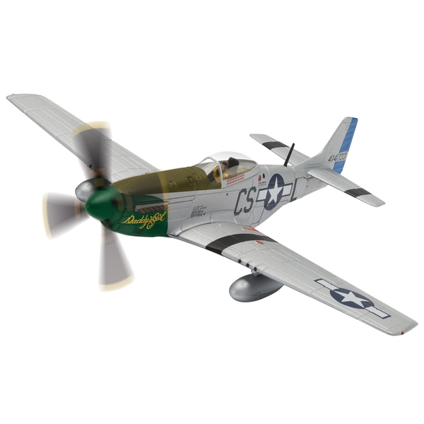 North American Mustang P-51D 44-14733/CS-L Daddy's Girl Capt. Ray Wetmore 370th Fighter Squadron 1:72 Corgi Model