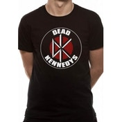Dead Kennedys Brick Logo Large T-Shirt - Black