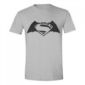 DC Comics Batman vs Superman: Dawn of Justice Adult Male Logo X-Large T-Shirt