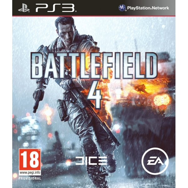 Battlefield 4 Game + China Rising Expansion Pack DLC PS3