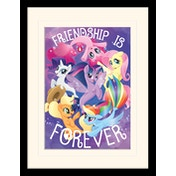 My Little Pony Movie - Friendship is Forever Mounted & Framed 30 x 40cm Print