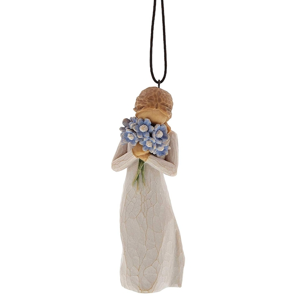 Forget me not (Willow Tree) Hanging Ornament
