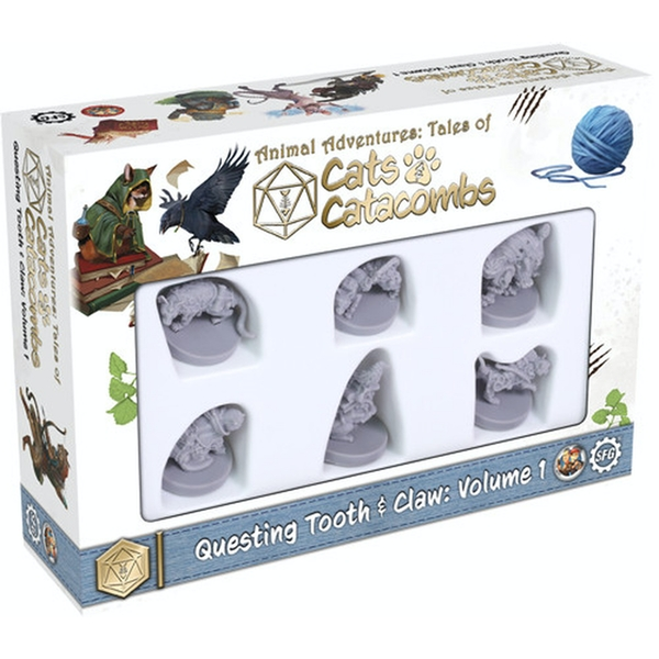 Cats and Catacombs - Questing Tooth & Claw: Volume 1